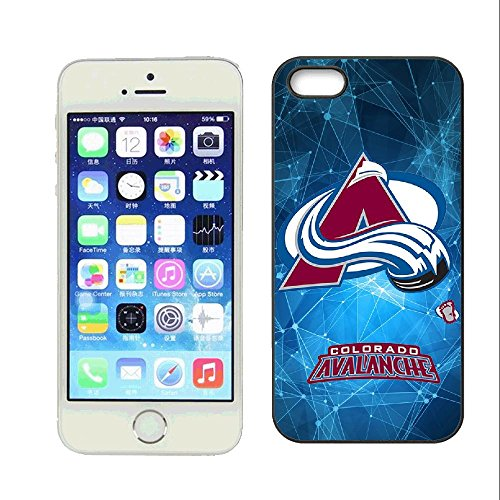 SYSJK Phone Hülle Colorado Hülle 1 Avalanche 2 for iPhone 5 iPhone 5s Generation,PC Material Never Fade Colorado Avalanche Iphone