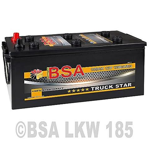 LKW Batterie 185Ah 12V 1200A Starterbatterie ersetzt 180Ah 170Ah 165Ah 155Ah