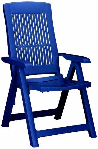Best 18200320 Klappsessel Santiago, blau