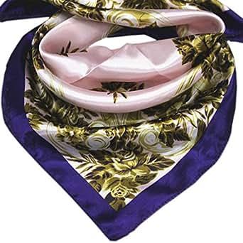 Fête des Mères Classiques rétro écharpe/foulard de Imprimée de petites fleurs