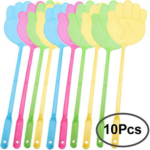 pretty nice 0cce5 04b27 Standie 10 Pack Fly Swatter Mango De Plástico Fly Swats Multi-Colors Mango  De Plástico