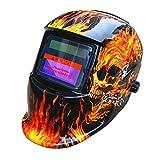 Saldatura casco da saldatore ad alimentazione solare maschera New DIN9–13