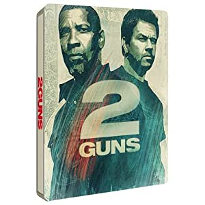 2 Guns Exclusive Steelbook Blu-Ray (UK Import ohne dt. Ton)