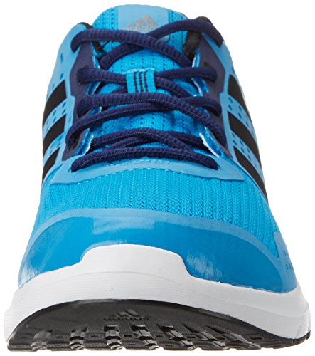 Adidas Duramo 7 M Scarpe da corsa, Uomo Solar Blue / Silver / Midnight Indigo Blue
