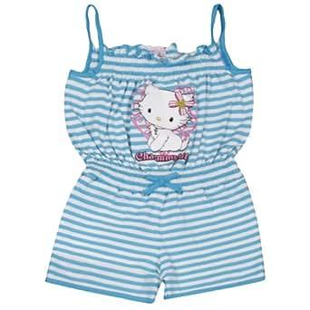 Charmmy Kitty Girls Ohne Kragen Sleeveless Shirt Blue - Blau (742 scuba blue) 6 Years