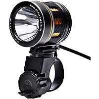 Black Bike lights, fiets aan, 6heldere modi, Ultra helderheid, multifunctioneel en waterdichte LED Koplamp/Outdoor tenten lampen