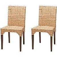 Amazon.es: silla ratan - Sillas / Comedor: Hogar y cocina