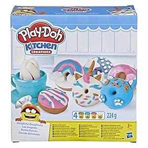 Play-Doh- Donuts Deliciosos, Multicolor (Hasbro E3344EU4)