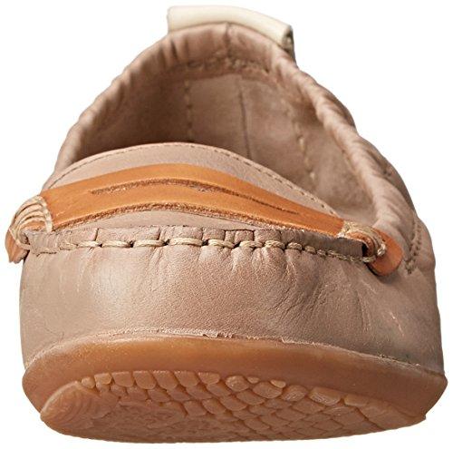 Hush Puppies Katherine Ceil Slip-on Mocassins Taupe Leather