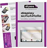 dipos I 6X Schutzfolie klar passend für Garmin Camper 770 LMT-D EU Folie Displayschutzfolie