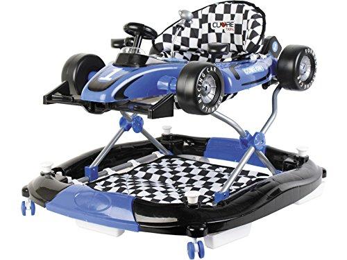 CUORE BABY Andador Azul 3 en 1 Fórmula 1 Actividades