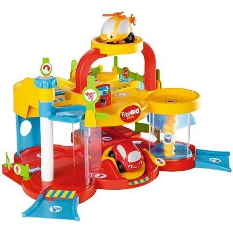 BIG PlayBIG Flizzies 56878 -Garaje con 2 plantas, rampa y ascensor (incluye 1 coche y 1