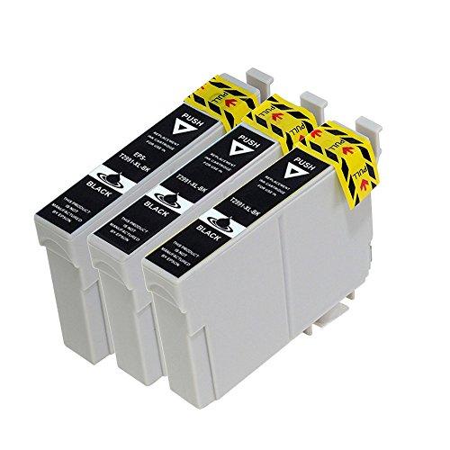 vivink 3PK rigenerate cartucce d' inchiostro per Epson T299129x l nero Compatibile con Epson Expression Home XP-235XP-332XP-335xp-442con chip