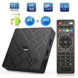 Android 8.1 HK1 MAX 4 + 32G Rk3328 Rockchip 4G RAM 32G ROM TV Ricevitore 4K 1080P Wifi Media Google Play Store IPTV Youtube Per Home Theater Giochi