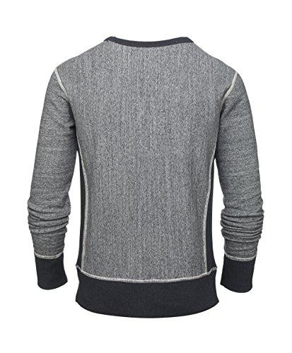 Maratus Herren Sweatshirt Aus Bio-Baumwolle Fair Wear Heather Grey
