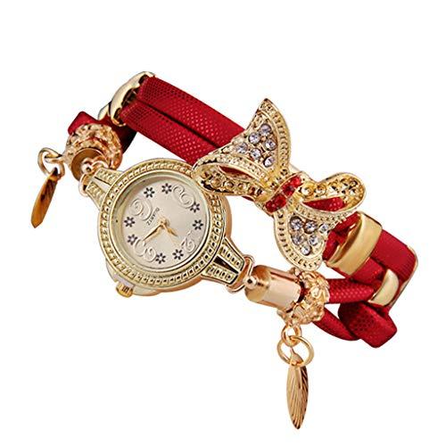 REALIKE Damen Uhr Armbanduhren Retro Einfach Schmetterling Keine Nummer Mesh-Gürtel Uhren Mehrfache Farben Freizeit Ultradünn Britische Artart und Weise Neue High End Geschäftsuhr Business