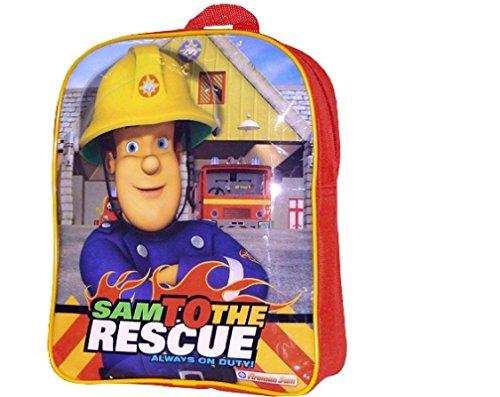 Sam Le Pompier - Enfants Sac à dos - Sam to the Rescue 30x25x8cm