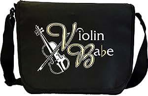 Violin Babe - Sheet Music Document Bag Musik Notentasche MusicaliTee