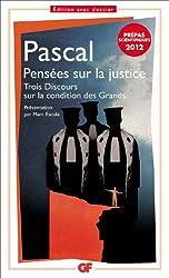 Pensées sur la justice (prépas scientifiques 2011-2012)
