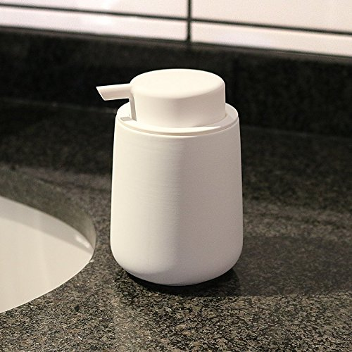 Nova One Stoneware With Soft-Touch Zone Soap Pump – White Size 11.5