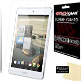 [Pack of 2] TECHGEAR® Acer Iconia A1 Tablet (Model no A1-830) MATTE / ANTI GLARE Screen Protector Guard Covers With Screen Cleaning Cloth (2x Matte / Anti Glare)