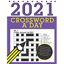 Crossword a Day 2021: 366 dated crossword puzzles