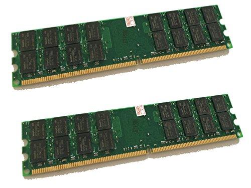 8GB DDR2 800MHz - 2x 4GB Kit - PC2-6400 RAM Speicher PC Speicher PC6400 240pin - kompatibel zu 533/667MHz / für AMD und VIA *nicht kompatibel zu Intel* - Ddr2-speicher