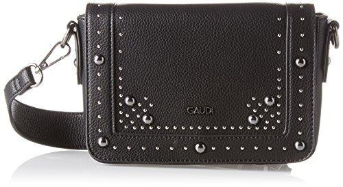 Gaudì Damen Crossbody-linea Ariel-cm.20x14x6 Henkeltasche, 20x14x6 Cm Nero (black)