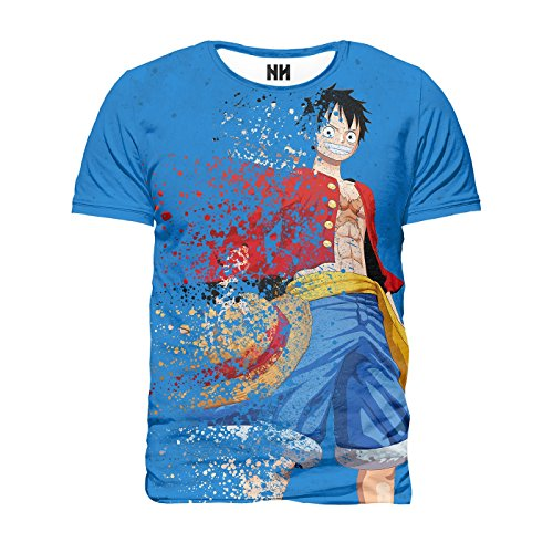 Noorhero - Camiseta de Hombre - One Piece Rubber