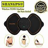 TENS Appareil de massage sans fil et stimulateur musculaire électrique professionnel pour soulager la douleur et la détente