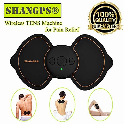 TENS Gerät, Drahtlos Elektrische Nerven und Muskelstimulator Professionelles Tens Massage Reizstromgerät für Schmerzlinderung und Entspannung