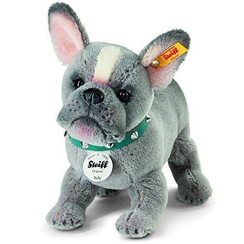 Puppy Plüsch Spielzeug (grau) (Bulldog Plüsch)