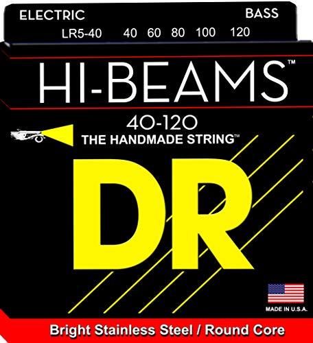 DR String LR5-40 Hi-Beam Set di corde per basso