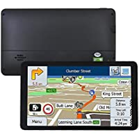 GPS Navigation 7 Inch SAT NAV Android for Cars Satellite Navigation System with HD SpeedCam MP3 Lifetime UK EU Maps Built in Bluetooth FM WIFI