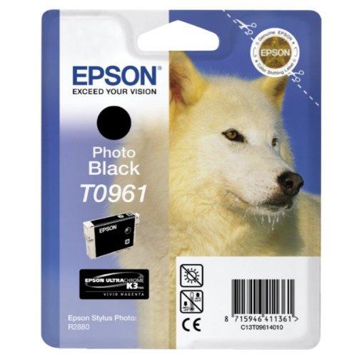 Preisvergleich Produktbild EPSON Tintenpatrone T09614010 schwarz foto sw