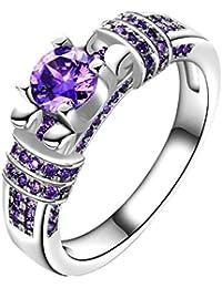 Verlobungsringe Schmuck & Zubehör Clever Mode Frauen Luxus Marke Kristall Schmuck Ring 316l Edelstahl Weiß Und Schwarz Transparent Cut Kristall Ring