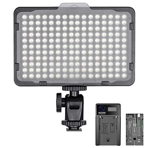 Neewer Regulable 176 LED Luz de Video 5600K en Panel de Luz...