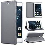 SmartLegend Huawei P9 Lite Etui, P9 Lite Coque ,élégance Folio Housse en Cuir Pour...
