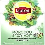 Lipton Kräutertee Marokkanische Minze Pyramidenbeutel 20 Stück