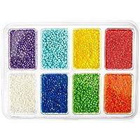 Perler Mini Beads - Perlas Mini, Bandeja 8, 000 pz, Multicolor