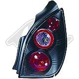 in.pro. 4000295 HD Rückleuchten klar Citroen C2 Baujahr: 03-10, schwarz