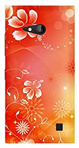 TrilMil Printed Designer Mobile Case Back Cover For MICROSOFT NOKIA LUMIA 730