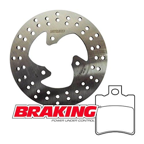 Kit freno anteriore/posteriore Braking disco pastiglie SR NRG Ovetto Typhoon 50