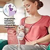 Philips Avent SCF332/01 Elektrische Einzelmilchpumpe mit Naturnah Flasche - 2