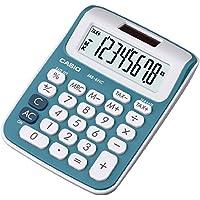 CASIO MS-6NC-BU calcolatrice da tavolo mini - Display a 8 cifre, struttura di colore bianco/blu - Confronta prezzi