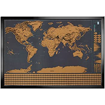 Wonderful maps scratch off world map with country flags us states wonderful maps scratch off world map with country flags us states australian states and gumiabroncs Gallery