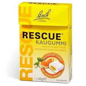 Fleur-de-Bach Original, Rescue Chewing Gum, 37 g