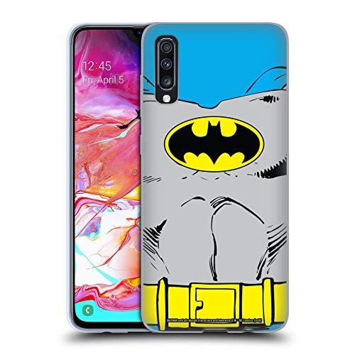 Head Case Designs Offizielle Batman DC Comics Klassische Kostueme Logos Soft Gel Huelle kompatibel mit Samsung Galaxy A70 (2019)