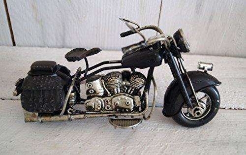 Lilienburg MOTORRAD Blechmodell Deko antik groß