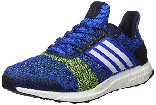 adidas ultra boost st m - Zapatillas de running para Hombre, Azul - (AZUL/FTWBLA/AMASOL) 42